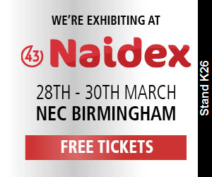 Were exibiting at naidex, 28th - 30th march, NEC Birmingham. Free Tickets