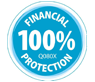 100 percent financial protection