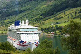 P&O World Cruises in World Cruise