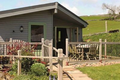Accessible holiday lodge with adapted disabled features in Derbyshire