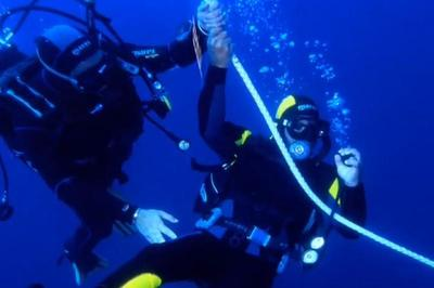 Disabled scuba diving in Sicily
