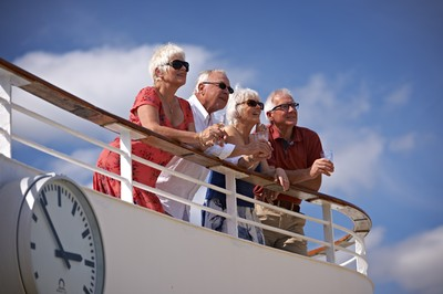 Passengers onboard a Fred. Olsen cruise