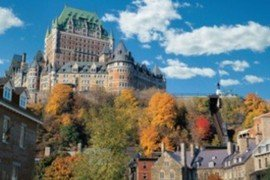 Fairmont Le Chateau Frontenac in Quebec