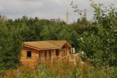 Accessible forest holiday lodge with profiling bed in Derbyshire