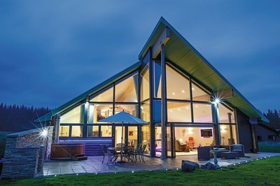 Accessible disabled access luxury lodge in Northumberland, UK