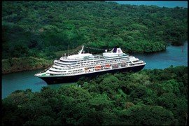 Holland America cruise to  Panama Canal in Panama Canal