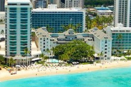 Moana Surfrider, A Westin Resort & Spa, Waikiki Beach in Hawaii