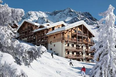Disabled-friendly ski resort in Val Thorens, France