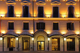 Hotel Romanico Palace in Rome