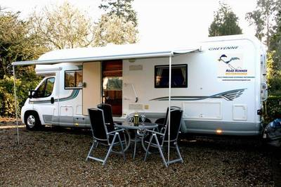 Accessible Sussex motorhome with ceiling track hoist