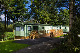 Accessible Holiday Self Catering Caravan - Derwent,  Newby Bridge in Windermere