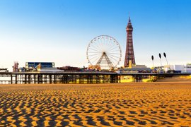 Blackpool by the Sea in North West