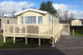 Accessible caravan in Kiln Holiday Park