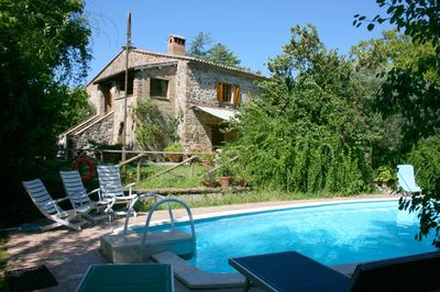 Villa with wheelchair access in Umbria, Italy