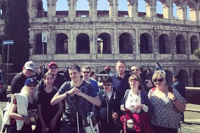 Blind and partially sighted holiday tour in Rome