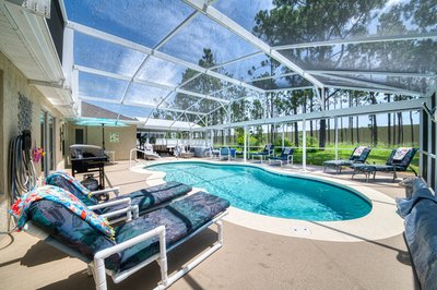 Disabled Orlando villa with pool and mobile hoist, Florida