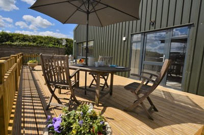 Accessible pet-friendly barn conversion with horse stabling in Dorset