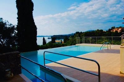 Disabled-friendly villa on the Corfu coast, Greece