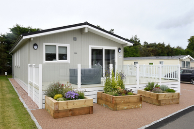 New accessible holiday lodge in Fife