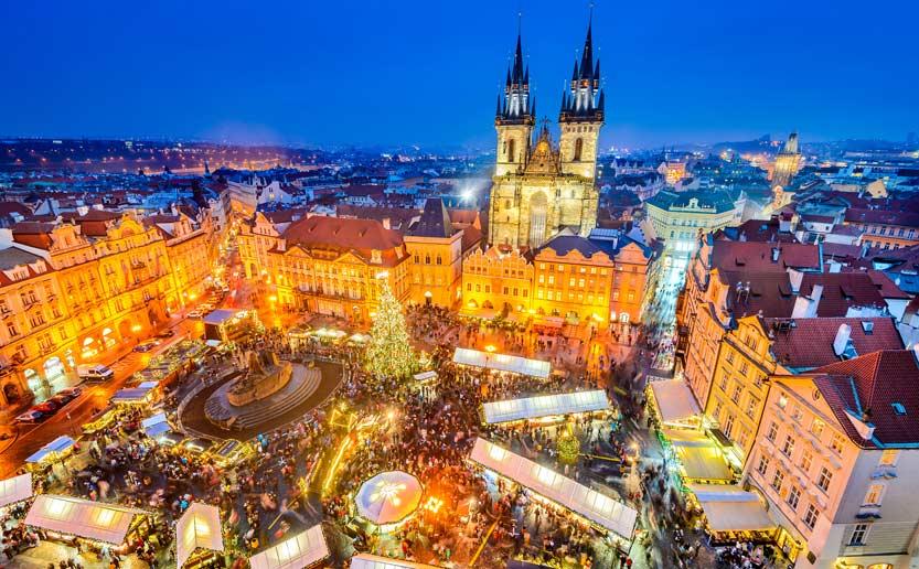 Prague Christmas market