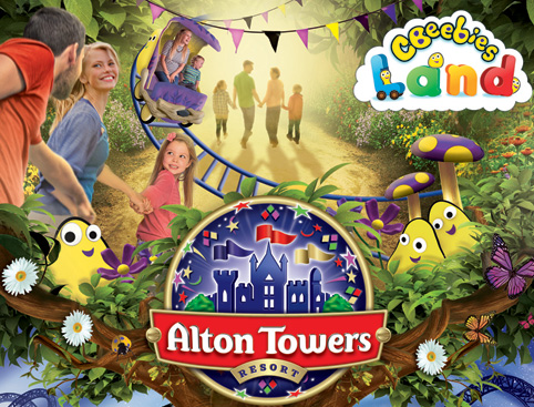 Alton Towers brochure
