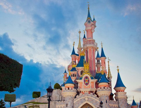 Castle at Disneyland Paris