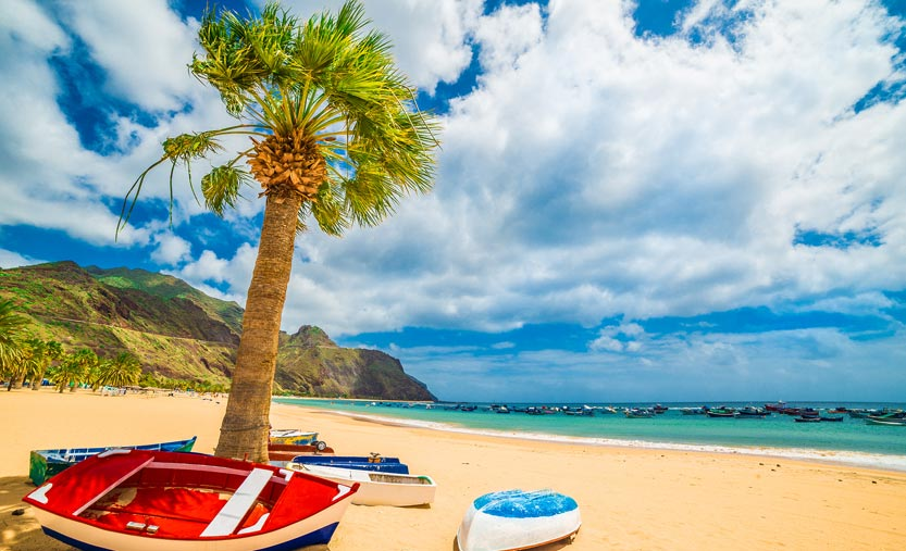 Las Teresitas Beach, Tenerife, Canary Islands