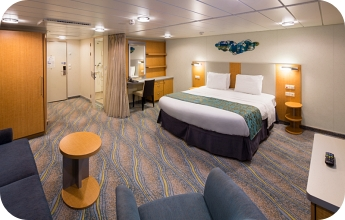 Royal Caribbean accessible cruise ship cabin for disabled guests