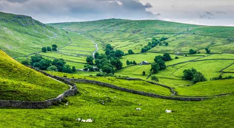 British countryside, Yorkshire Dales