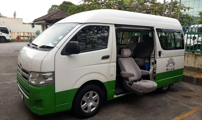 Accessible transport for the disabled in Malaysia