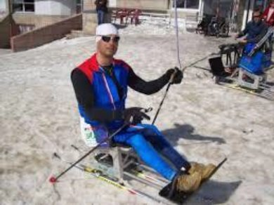 Accessible Nordic skiing in French Pyrenees