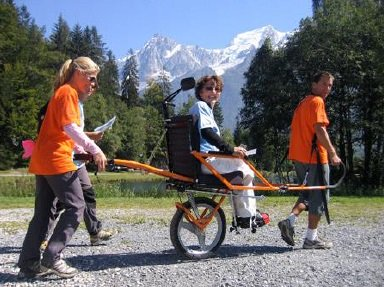 Accessible walking in the French Pyrenees