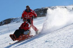 Accessible skiing in the French Pyrenees