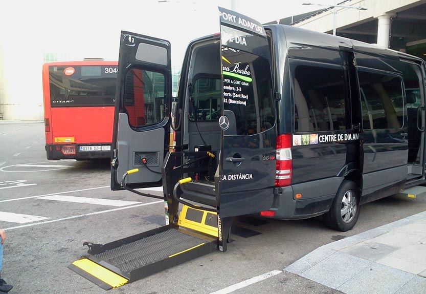 Accessible private transport in Barcelona