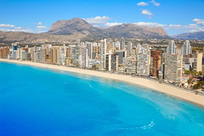 Benidorm Levante beach