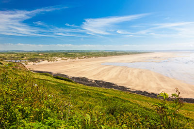 Saunton Sands beach, Devon