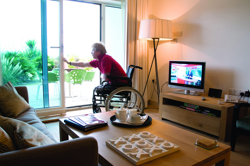 Accessible disabled-friendly room in Cornwall