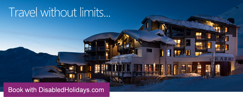Adapted Ski Holidays with DisabledHolidays.com