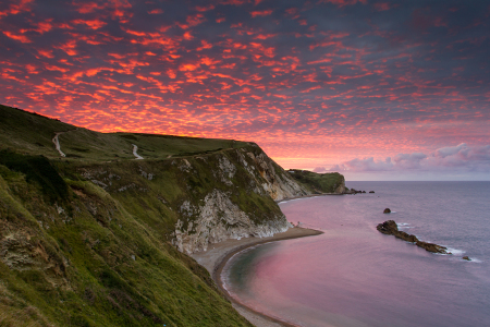 Sunset in Dorset