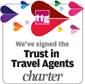 We've signed the Trust in Travel Agents Charter
